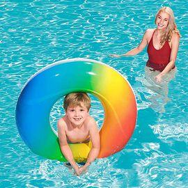 Rainbow Swim Ring 36 Inch