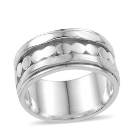 Sterling Silver Band Ring, Silver wt 6.90 Gms.