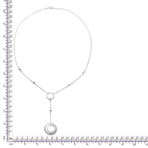 Sterling Silver Necklace (Size 20), Silver wt 6.43 Gms