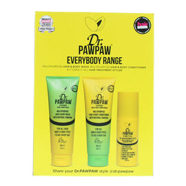 DR.PAW PAW: Everybody 3 Piece Range Set (Shampoo, Body Wash & Hair & Body)