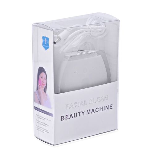Grey Colour Silicon Face Cleansing Brush (Size 10x10 Cm)