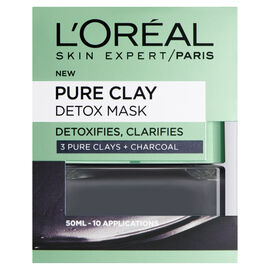 LOreal: Pure Clay Detox Mask - 50ml