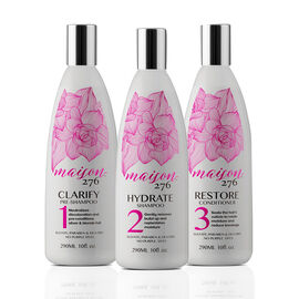 Maison 276: Haircare System (Incl. Pre Shampoo - 290ml, Shampoo - 290ml & Conditioner - 290ml)