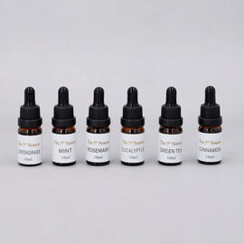 The 5th season - Set of 6 Fragrance Oils Energising Set (Fragrance: Eucalyptus, Mint,  Rosemary,  Le