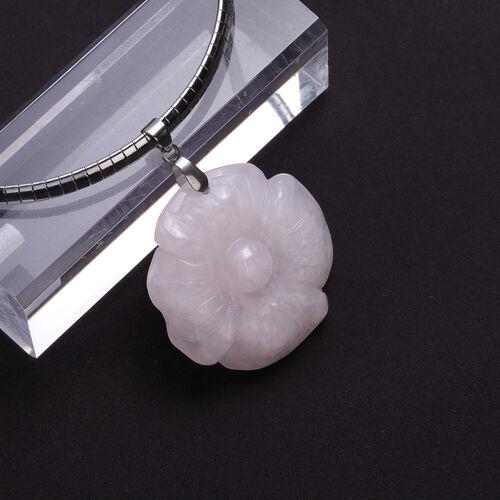 Rose Quartz  Necklace 88.50 ct  88.500  Ct.