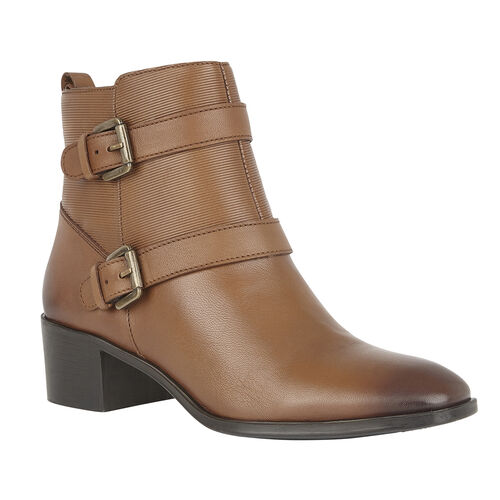Lotus Leather Teresa Ankle Boots (Size 7)