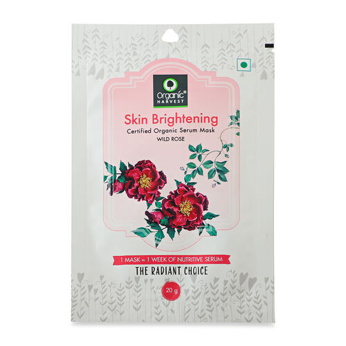 Set of 3 - Biodegradable Organic Sheet Masks - Anti-Wrinkle, Moisturizing and Skin Brightening