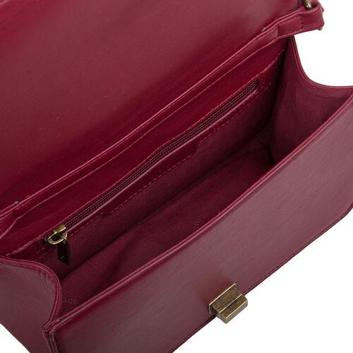 Bulaggi Collection Chester Crossbody Bag - Burgundy