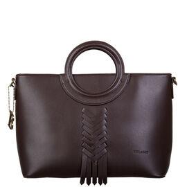 Bulaggi Collection- Briar Handbag (Size 33x24x15 Cm) - Dark Brown