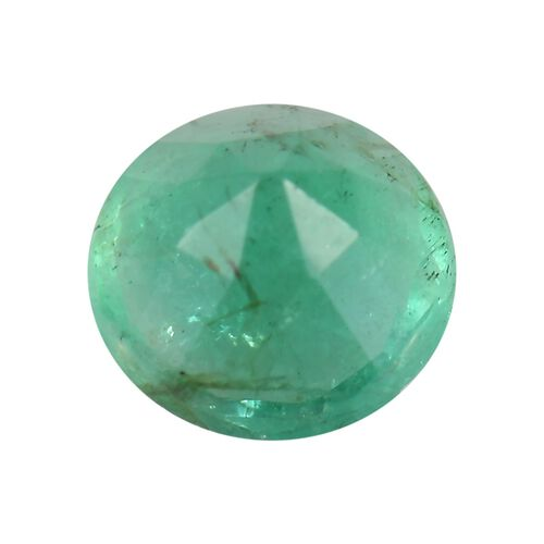 AA Emerald Round 4.5 Faceted 0.26 Cts