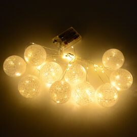 Home Decor 10PCS LED Light Ball Colour - White