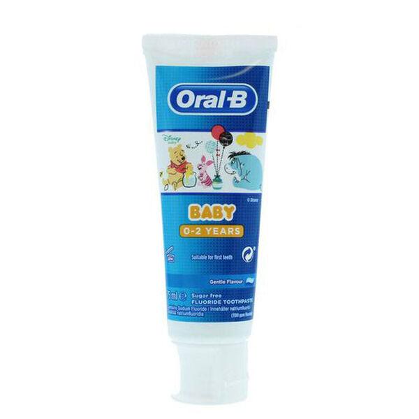 Oral B: Winnie Pooh 0-2YRS - 75ml (Set of 2)