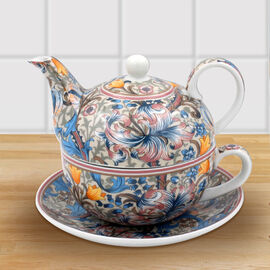 Lesser and Pavey - William Morris Golden Lily Tea for One Set