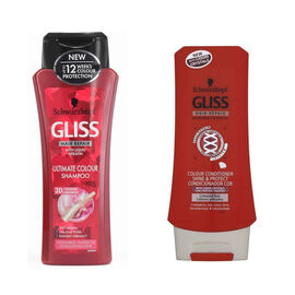 Schwarzkopf: Gliss Colour Pro Shampoo - 250ml & Gliss Colour Pro Conditioner - 200ml