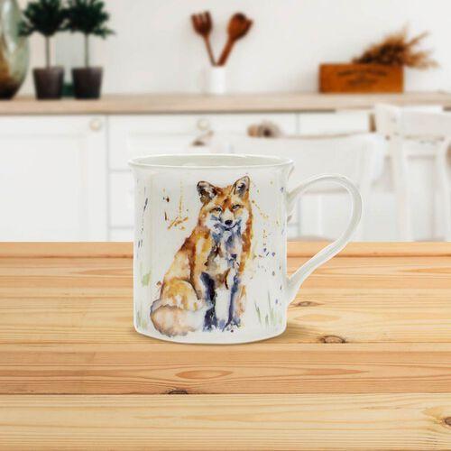 Lesser & Pavey - Country Life Fox Mug and Coaster