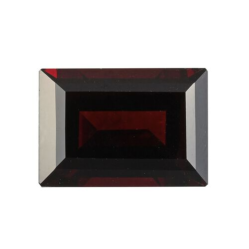 AAA Red Garnet Baguette 14x10 Faceted 9.30 Cts