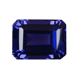 AAAA Tanzanite Octagon 13.26x9.89x7.27 Faceted 8.51 Ct.