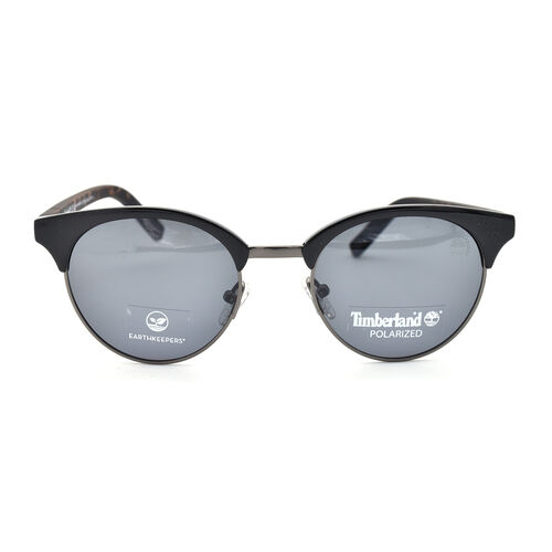TIMBERLAND Clubmaster Sunglasses in Black