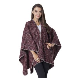 Designer Inspired Orange and Black Colour Kimono Size 120x73 Cm