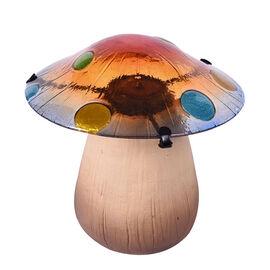 Decorative Garden Stake Mushroom Solar LED Light (Size:17.5x17.5x18cm) - Multi