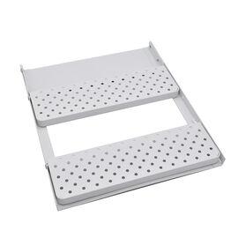 Magnetic 3-Layer Organiser Rack (32x28cm) - White