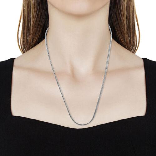 Royal Bali Collection - Sterling Silver Tulang Naga Necklace (Size 20), Silver wt 16.91 Gms