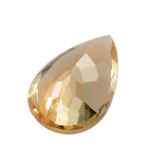 AA Imperial Topaz Pear 7.99x5.11x3.45 Faceted 0.80 Cts