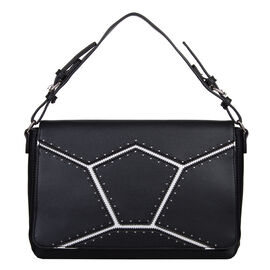 Bulaggi Collection - Skylar - Handbag With Adjustable and Removable Strap (28x18x08 cm) - Black