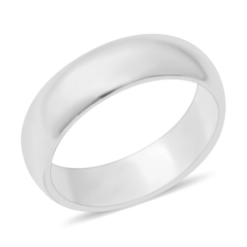 Plain Band Ring in Sterling Silver 5.30 Grams