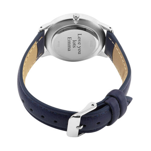 Personalised Engravable ANAII Seville Blue Watch