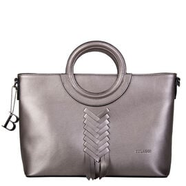 Bulaggi Collection- Briar Handbag (Size 33x24x15 Cm) - Pewter