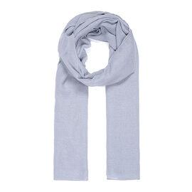 Brand New Scarves - Grey Metallic Print Scarf - Grey