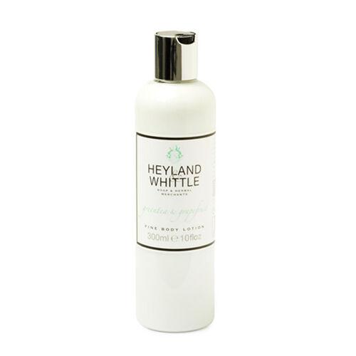 Heyland & Whittle: Greentea & Grapefruit Body Scrub, Organic Bar & Body Lotion