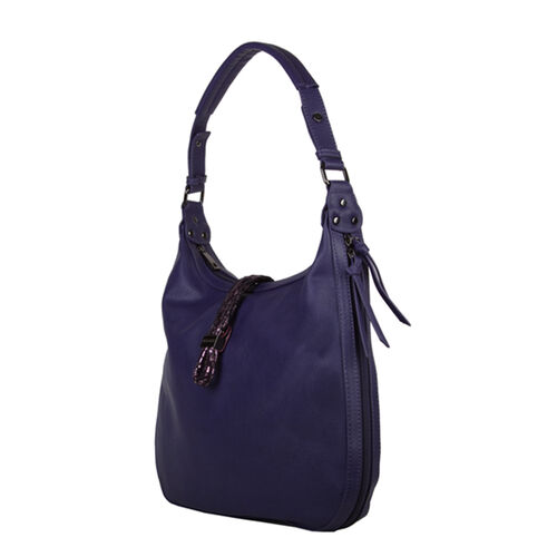 Bulaggi Collection - Bibis Hobo Bag (Size 37x30x10 Cm) - Blue