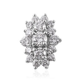 RHAPSODY 950 Platinum IGI Certified Diamond (Rnd) (VS/E-F) Pendant 1.000 Ct.