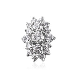RHAPSODY 950 Platinum IGI Certified Diamond (Rnd) (VS/E-F) Pendant 0.500 Ct.