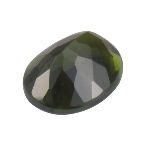 AA Multi-Tourmaline Oval 9x7 Faceted 1.27 Cts