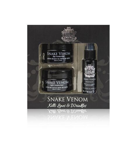 CB&CO: Snake Venom Set (Incl. Day Cream - 50ml, Night Cream - 50ml & Facial Serum - 30ml)