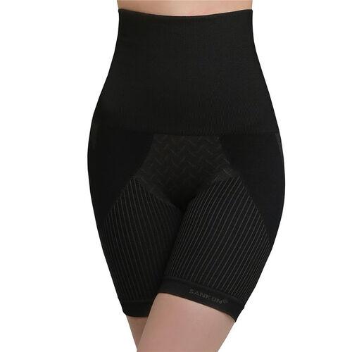 SANKOM SWITZERLAND Patent Aloe Vera fibers Posture Correction Shapers Shorts - Black (Size XXL / 18 plus)