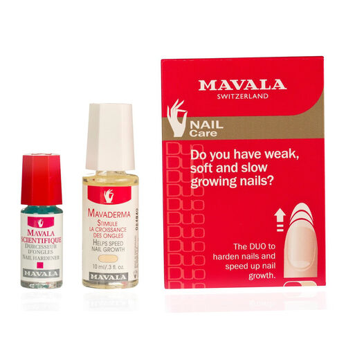 Mavala: Weak Nail Care Duo (With Free Polish Mexico (030) - 5ml)