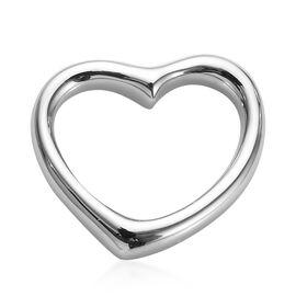 RHAPSODY 950 Platinum Open Heart Pendant