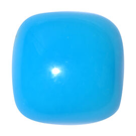 AAA Arizona Sleeping Beauty Turquoise Cushion 12x12 Cabochon 6.250 Ct.