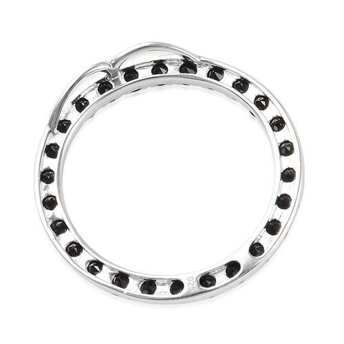 J Francis - Crystal from Swarovski Aurore Boreale Crystal (Rnd)  Circle Pendant in Sterling Silver