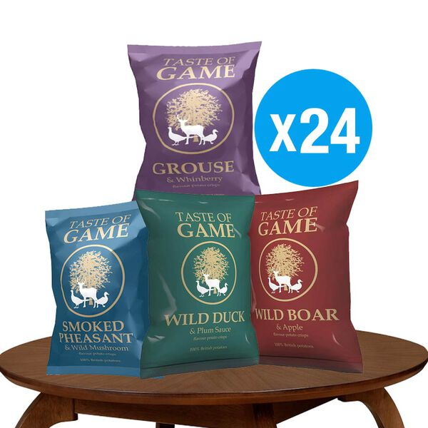 Taste of Game 24x40g 6 Duck, 6 Boar, 6 Grouse, 6 Pheasant
