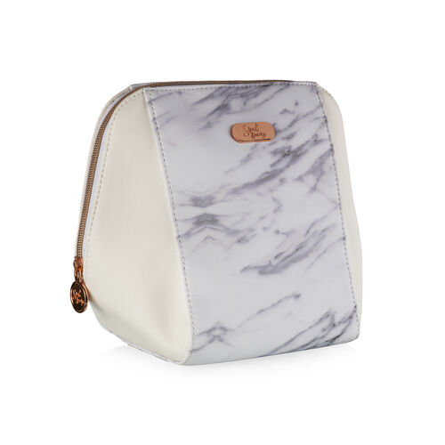 Soul Beauty: Marble Collection Cosmetic Bag