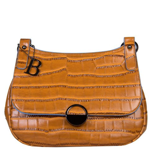Bulaggi Collection - Daisy Crossbody Bag with Flap Closure and Adjustable Shoulder Strap (29x22x9cm)
