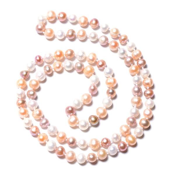 High Lustre Multi Colour Freshwater Pearl Necklace (Size 30)
