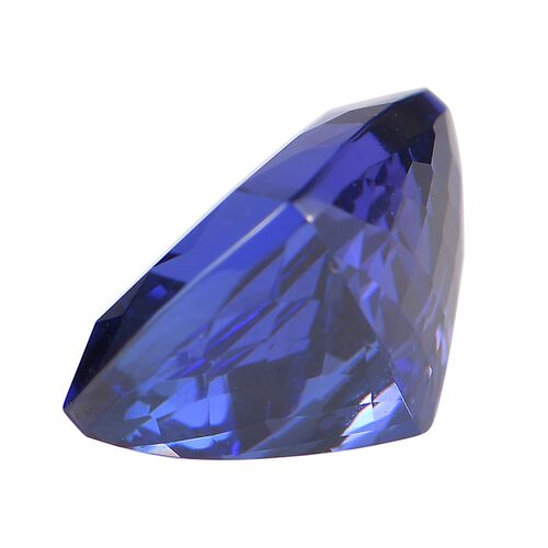 AAAA Tanzanite Cushion Free Faceted (11.95x10.11x7.55) 7.65 Cts
