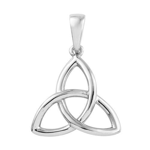 RHAPSODY 950 Platinum Trinity Knot Pendant