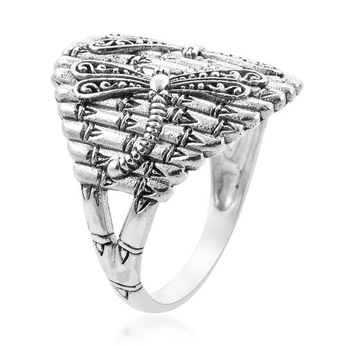 Royal Bali Collection - Sterling Silver Dragonfly Ring